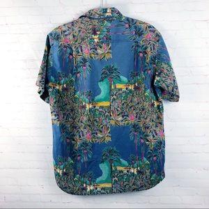 Lemon & Soda Shirts - Lemon & Soda Floral Button Down Shirt Vintage